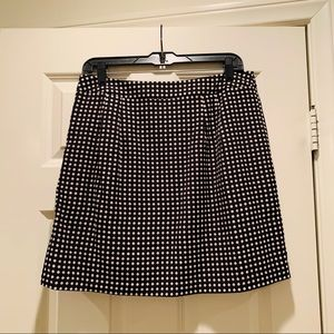 The Limited Skirts - The Limited Microdot Mini Skirt